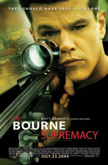 THE BOURNE SUPREMACY () Poster