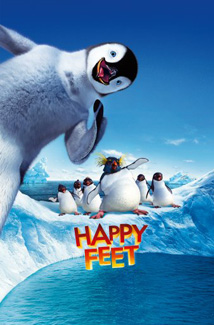 HAPPY FEET () Poster