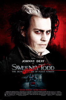 SWEENY TODD: THE DEMON OF FLEET STREET () Poster