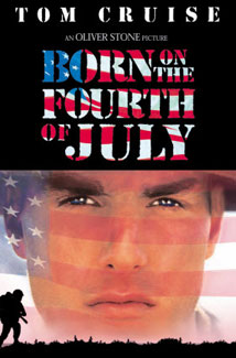 BORN ON THE 4TH OF JULY () Poster