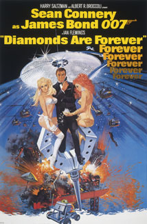 007: Los diamantes son... (1971) Poster