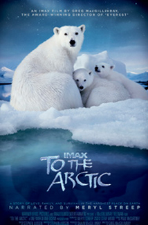 TO THE ARCTIC 3D () Poster