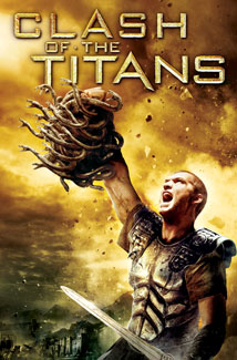 CLASH OF THE TITANS () Poster
