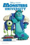 MONSTERS UNIVERSITY 3D () Poster