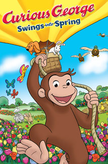 CURIOUS GEORGE SWINGS INTO SPRING () Poster