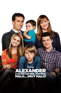 Alexander y un día horrible y ¡muy malo! (2014) Poster