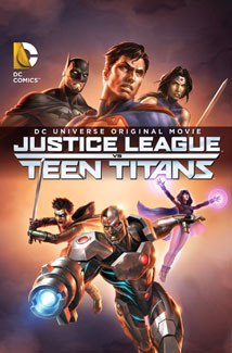 Justice League vs Teen Titans (2016) Poster