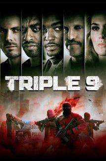 Triple 9 (2016) Poster