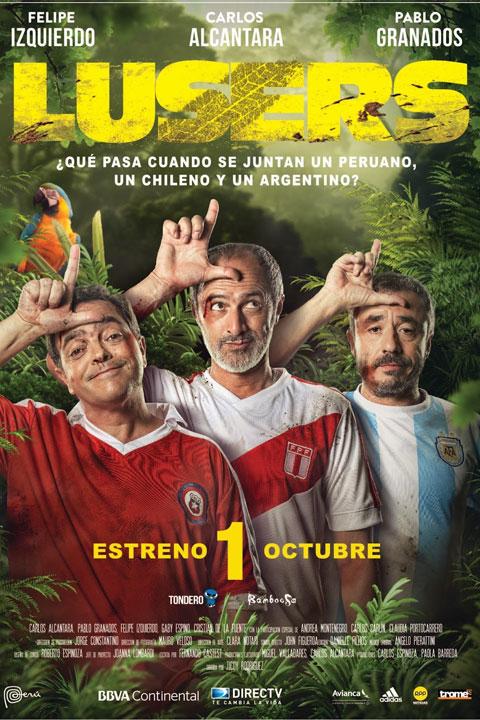 Lusers, los amigos no se eligen (2016) Poster