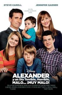 Película Alexander y un Día Terrible, Horrible, Malo... ¡Muy Malo!