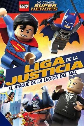 Súperhéroes DC Lego - Liga De La Justicia: Ataque De La Legión Del Mal