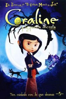 Película Coraline y la puerta secreta