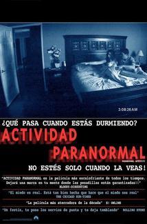 Película Paranormal Activity