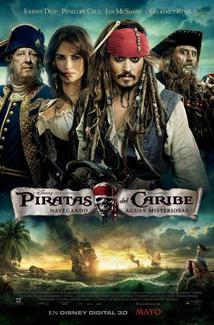 Película Piratas del Caribe: Navegando aguas misteriosas