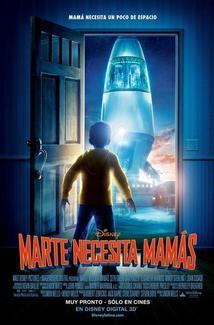 Película Marte Necesita Mamás