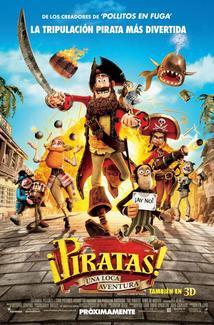 Película ¡Piratas! Una loca aventura